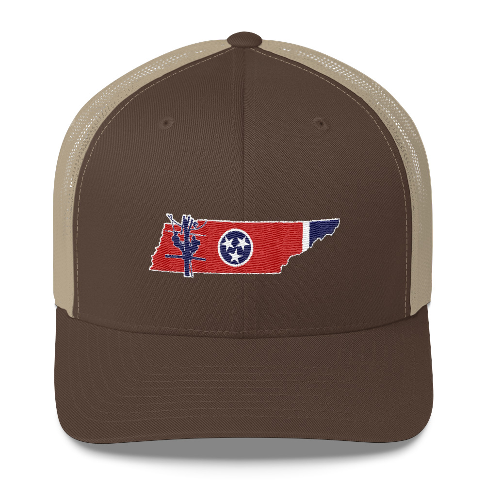 7ab9056a0b800 Tennessee Lineman Trucker Cap – Lineman Outfitters